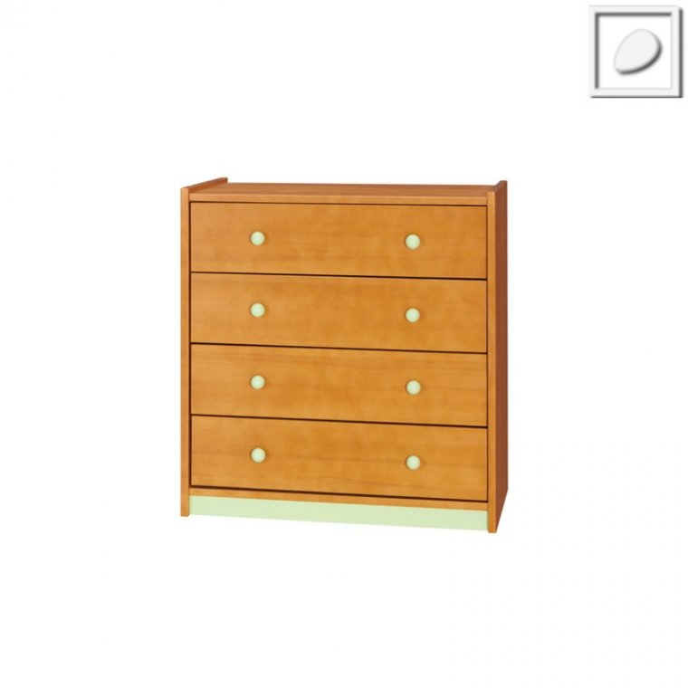 DB03 - Soldi II System - Chest of 4 drawers