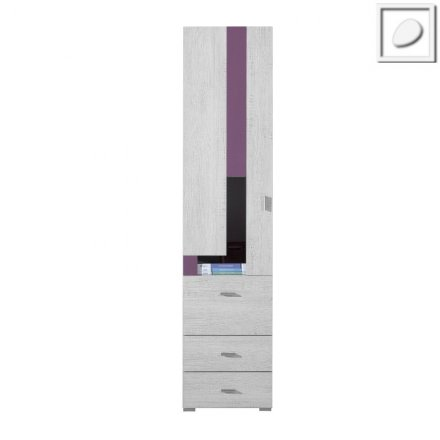FL05 - Flash System - Bookcase with drawers