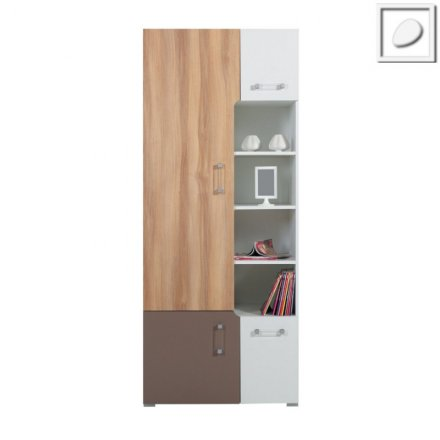 CT04 - Concepto System - Wide Bookcase 1