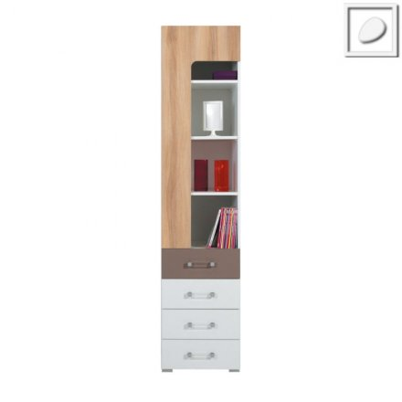 CT07 - Concepto System - Narrow Bookcase 2