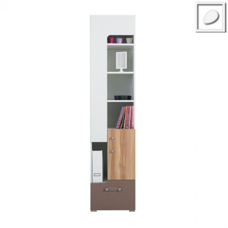 CT08 - Concepto System - Narrow Bookcase 3