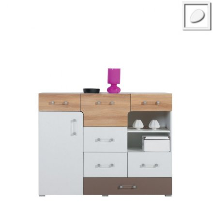 CT09 - Concepto System - Wide Chest of Drawer