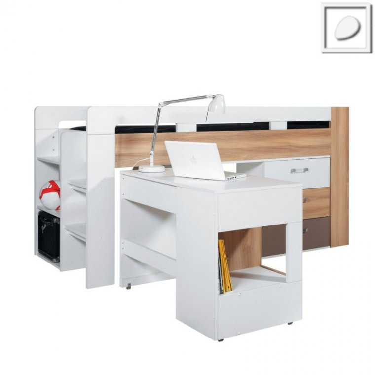 CT16 - Concepto System - Bed with Desk