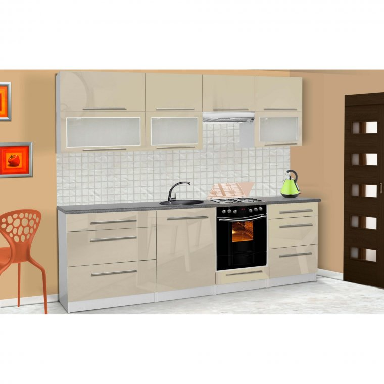 Kitchen set high gloss