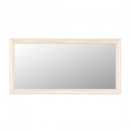 Mirror with frame in 2 colors