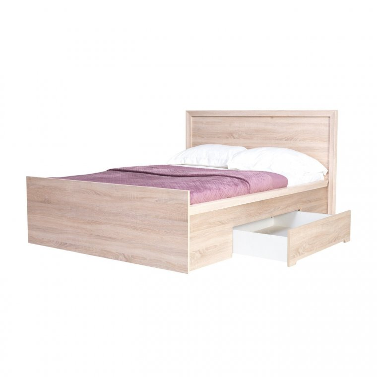 160x200 bed with drawer