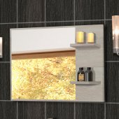 Sonoma Oak colour mirror