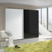 Black&White high gloss cabinet