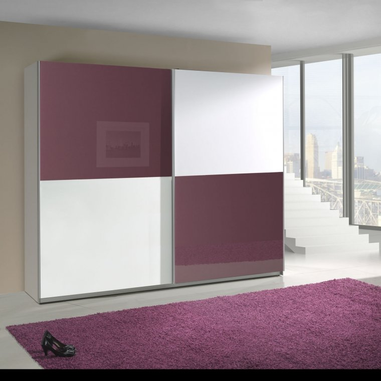 Purple and White cabinet