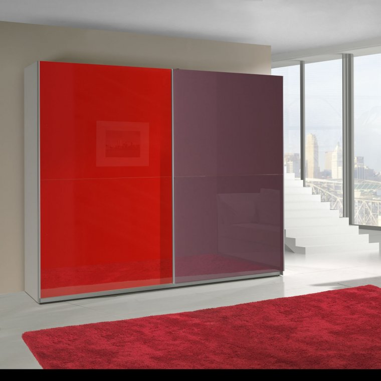 Purple and Red cabinet