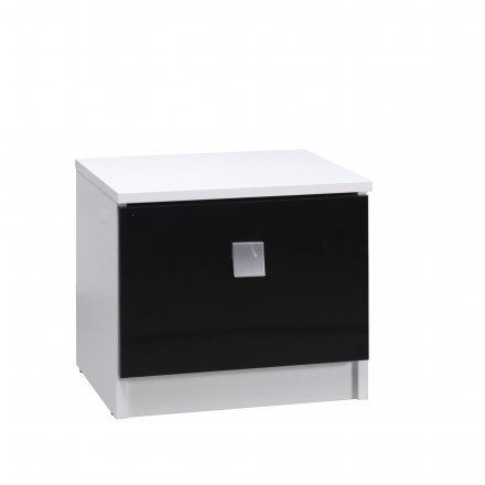 Bedside table high gloss