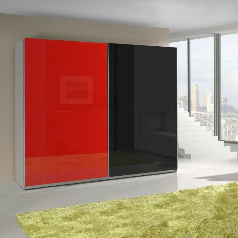 Black and Red cabinet