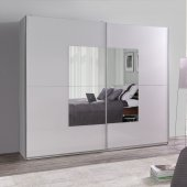 Wardrobe with a mirror