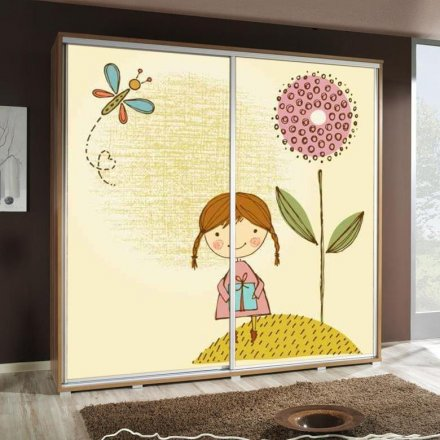 Wardrobe with graphics 205 - Kids