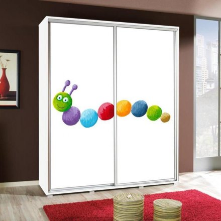 Wardrobe with graphics 155 - For Children