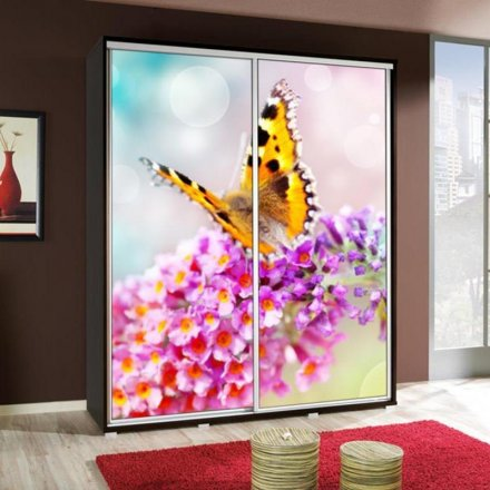Wardrobe with graphics 155 - Flowers