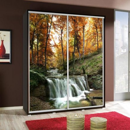 Wardrobe with graphics 155 - Landscape