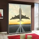 Wardrobe with graphics 155 - Airplane