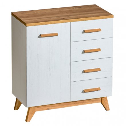 Chest of drawers in the Scandinavian style
