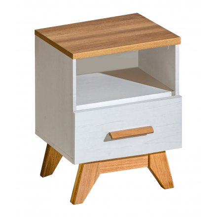 Scandinavian bedside table