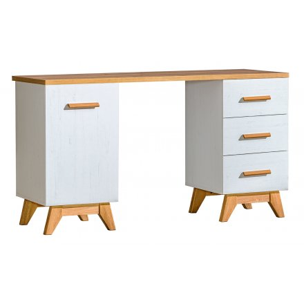 Scandinavian desk with drawers