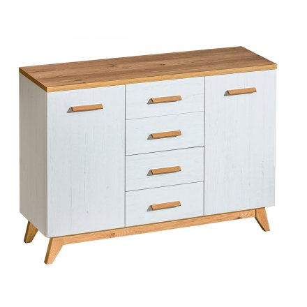 White Scandinavian chest