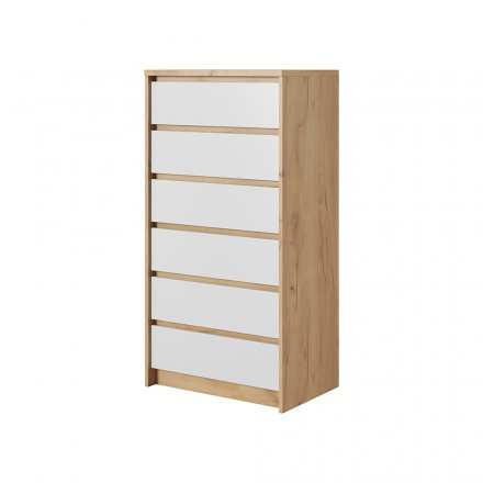 High chest with 8 drawers