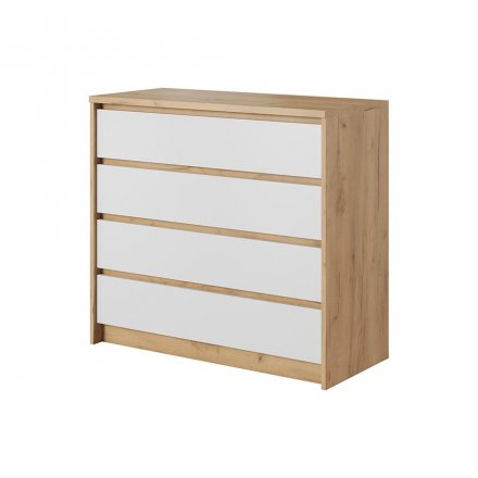 Chest of drawers with 4 drawers