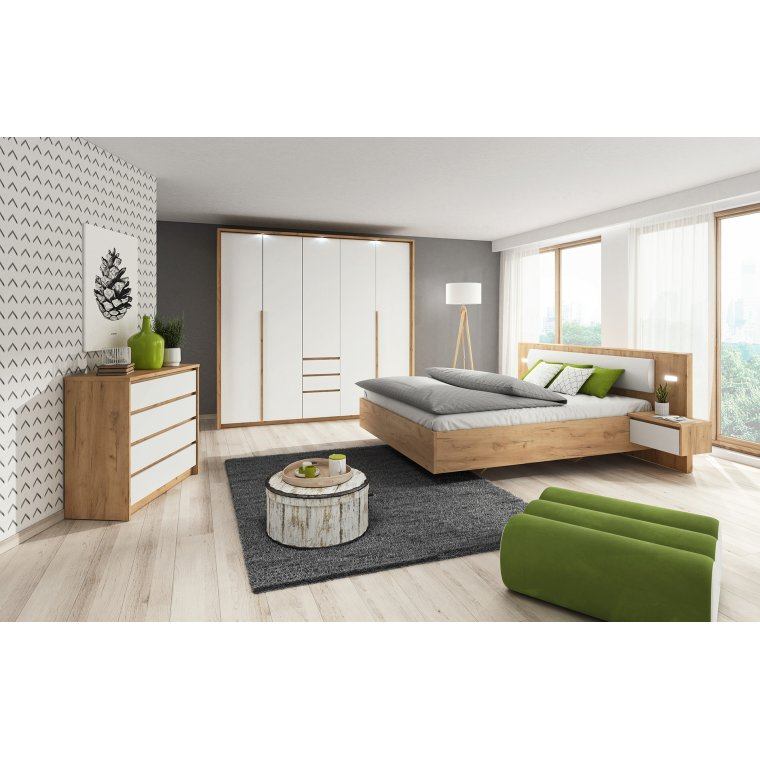 . Bedroom in the Modern Nature style   Almond Furniture