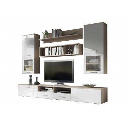 Wall unit in shine