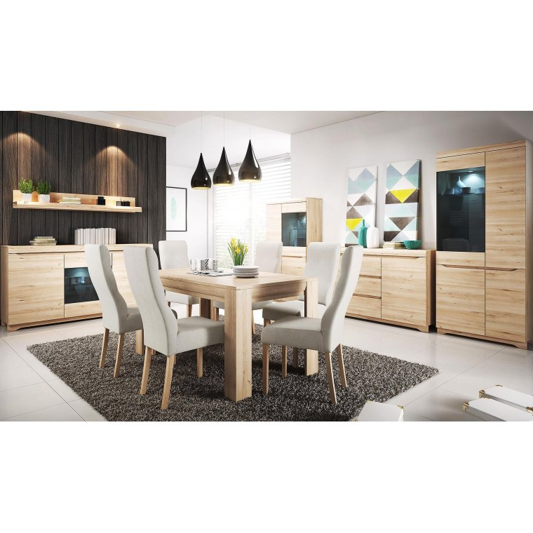 Dining Room Furniture In Beech Color