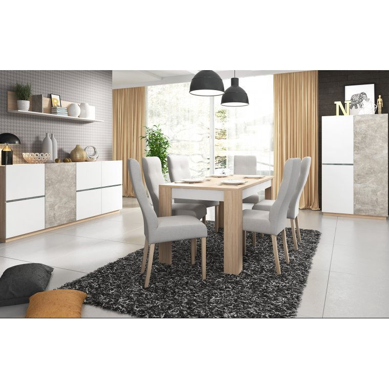 Dining room furniture with lighting