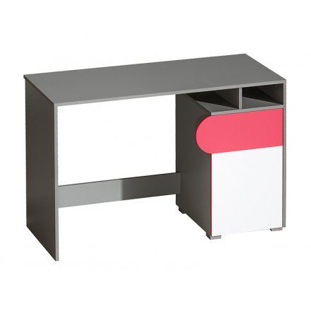 Modern desk with a door