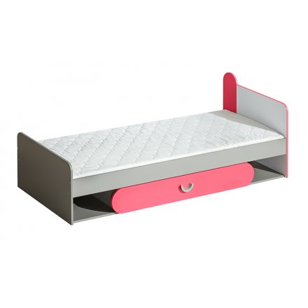 Bed with a drawer