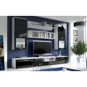 Wall unit (white gloss)