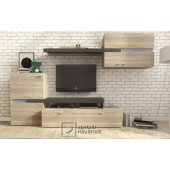 Wall unit with LED