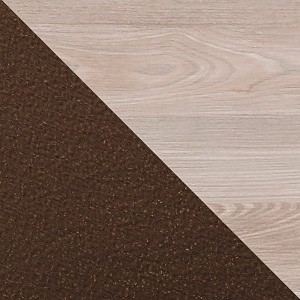 Nelson OAK BODY + Brown Pearl FABRIC
